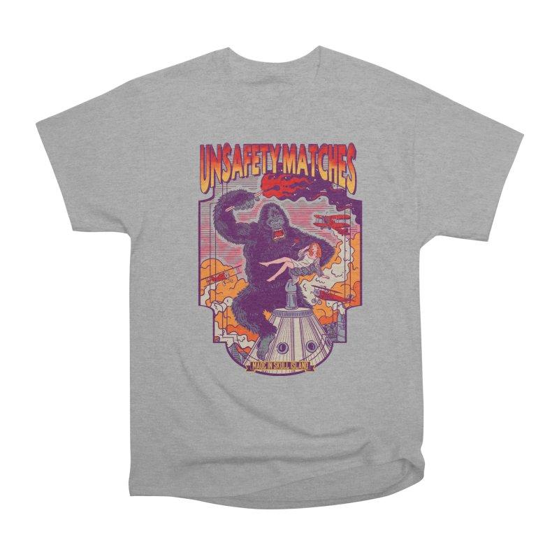 UNSAFETY MATCHES Men's Heavyweight T-Shirt by kooky love's Artist Shop