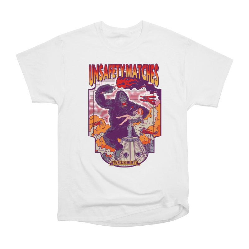 UNSAFETY MATCHES Women's Heavyweight Unisex T-Shirt by kooky love's Artist Shop
