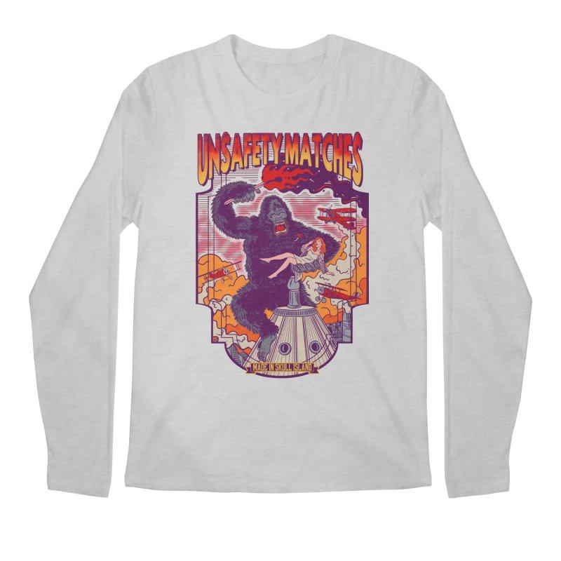 UNSAFETY MATCHES Men's Regular Longsleeve T-Shirt by kooky love's Artist Shop
