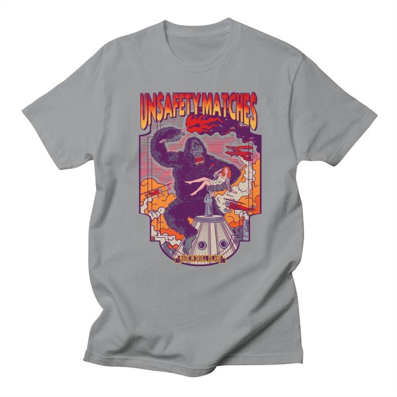 UNSAFETY MATCHES Men's Regular T-Shirt by kooky love's Artist Shop