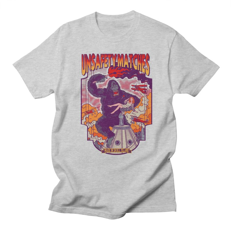 UNSAFETY MATCHES Men's Regular T-Shirt by kooky love's Artist Shop