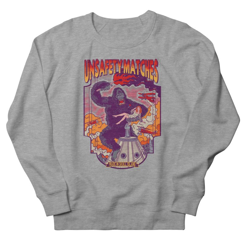UNSAFETY MATCHES Women's French Terry Sweatshirt by kooky love's Artist Shop
