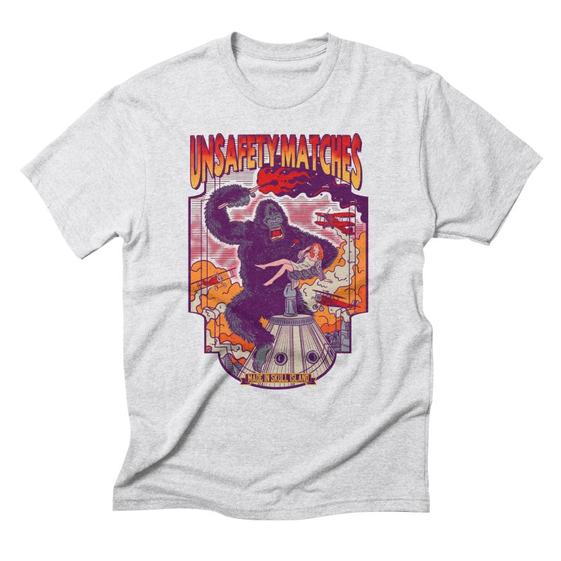 UNSAFETY MATCHES Men's Triblend T-Shirt by kooky love's Artist Shop