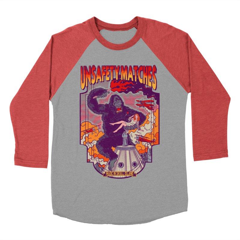 UNSAFETY MATCHES Women's Baseball Triblend Longsleeve T-Shirt by kooky love's Artist Shop