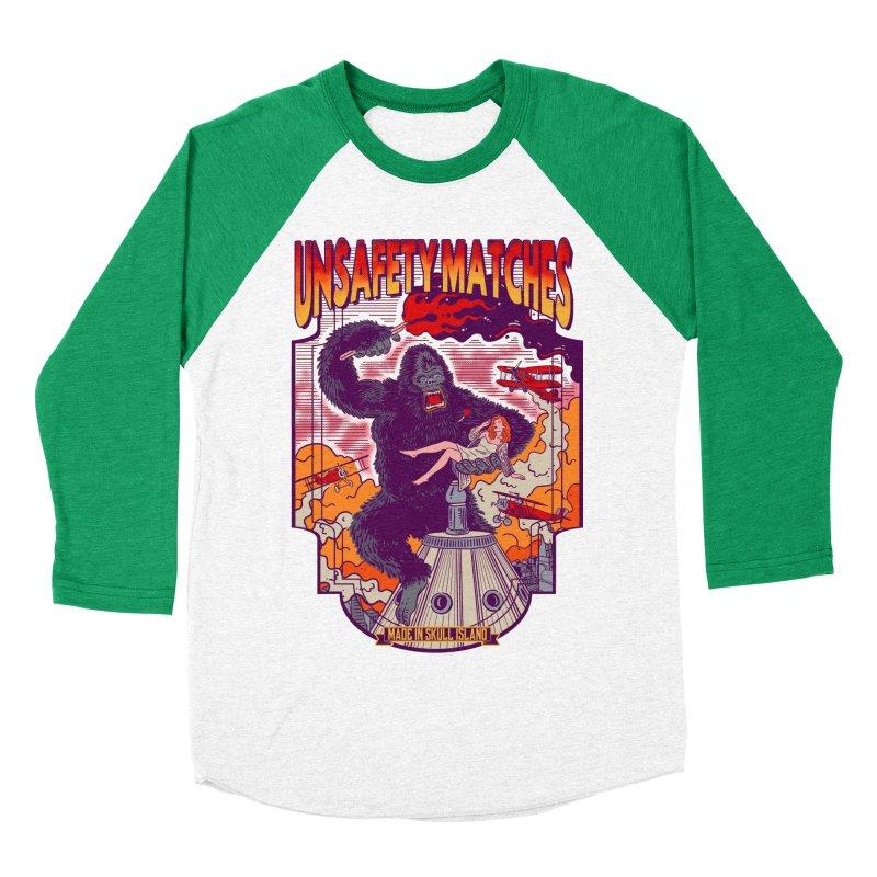 UNSAFETY MATCHES Men's Baseball Triblend Longsleeve T-Shirt by kooky love's Artist Shop