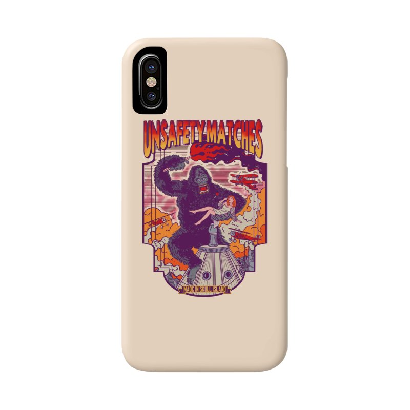 UNSAFETY MATCHES Accessories Phone Case by kooky love's Artist Shop