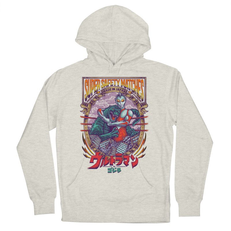 SUPER SAFETY MATCHES Women's French Terry Pullover Hoody by kooky love's Artist Shop