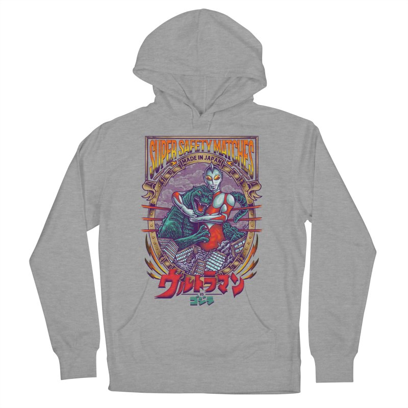 SUPER SAFETY MATCHES Men's French Terry Pullover Hoody by kooky love's Artist Shop