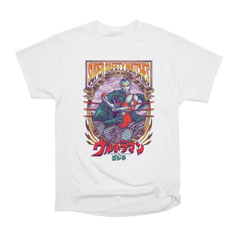 SUPER SAFETY MATCHES Men's Heavyweight T-Shirt by kooky love's Artist Shop