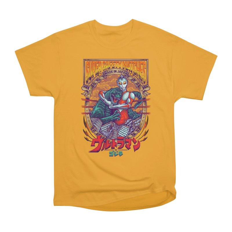 SUPER SAFETY MATCHES Women's Heavyweight Unisex T-Shirt by kooky love's Artist Shop