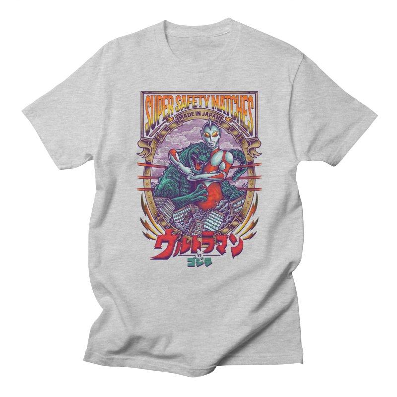 SUPER SAFETY MATCHES Men's Regular T-Shirt by kooky love's Artist Shop