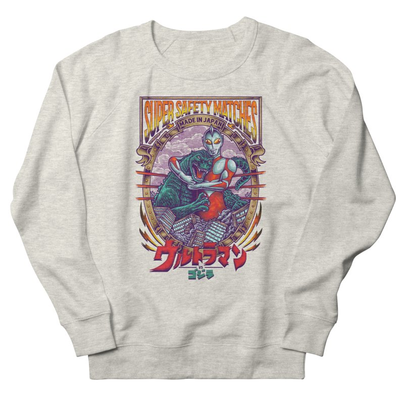 SUPER SAFETY MATCHES Men's French Terry Sweatshirt by kooky love's Artist Shop