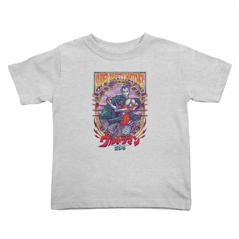 SUPER SAFETY MATCHES Kids Toddler T-Shirt by kooky love's Artist Shop