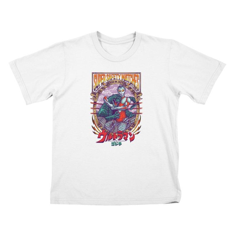 SUPER SAFETY MATCHES Kids Toddler T-Shirt by kooky love's Artist Shop