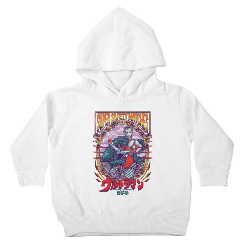 SUPER SAFETY MATCHES Kids Toddler Pullover Hoody by kooky love's Artist Shop