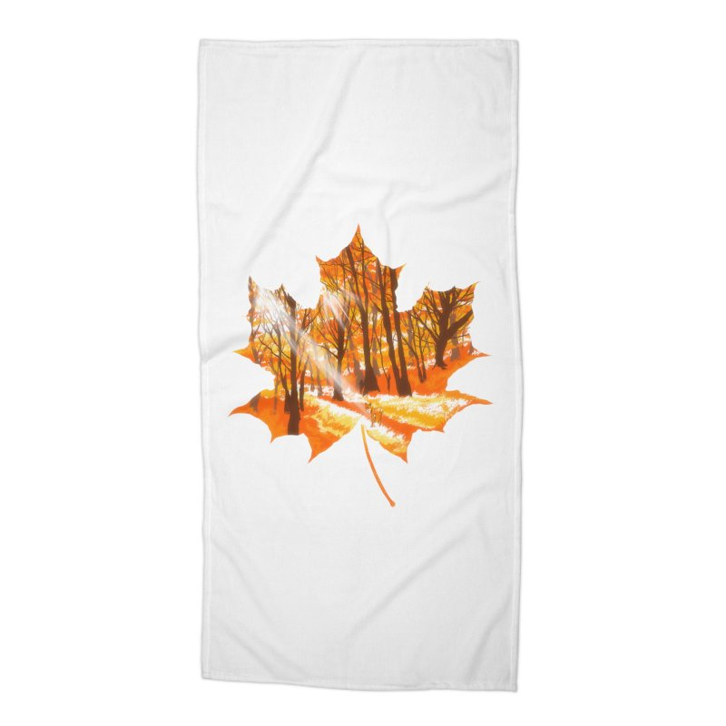 Golden Alley Accessories Beach Towel by kooky love's Artist Shop
