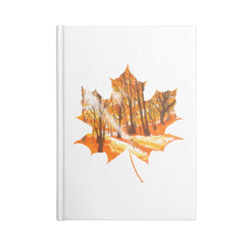 Golden Alley Accessories Notebook by kooky love's Artist Shop