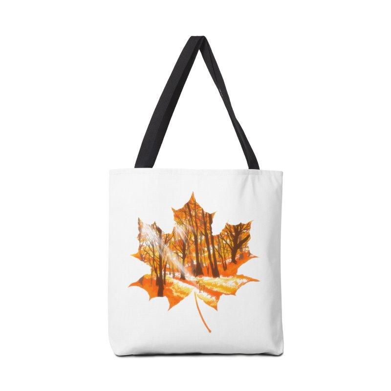 Golden Alley Accessories Bag by kooky love's Artist Shop
