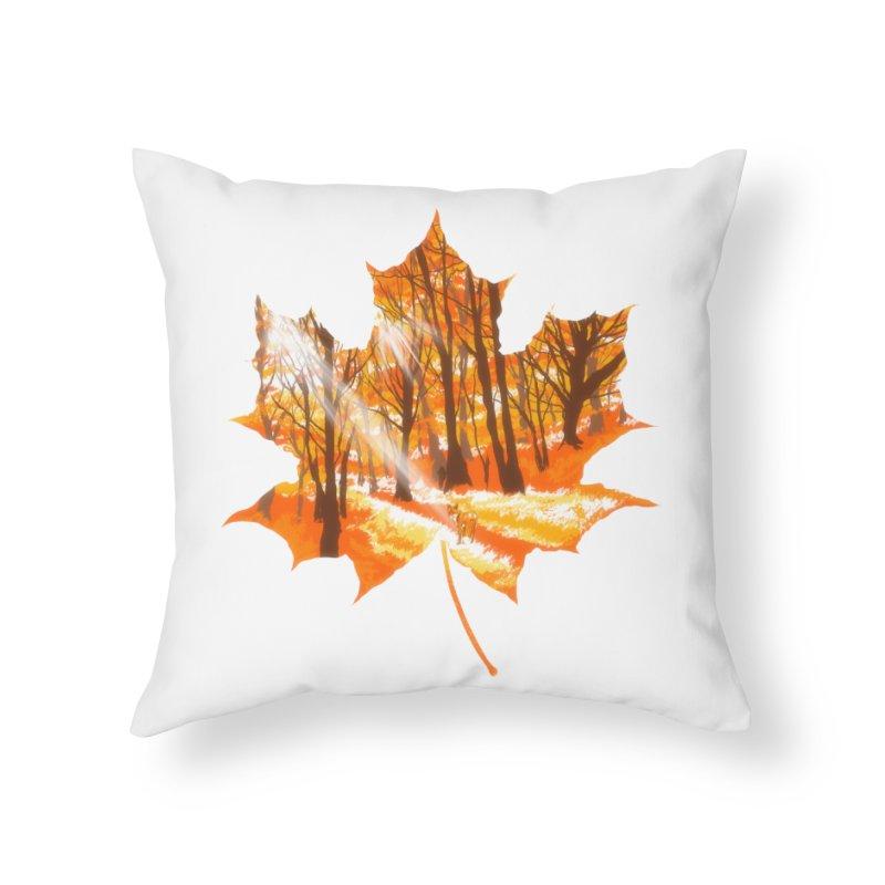 Golden Alley Home Throw Pillow by kooky love's Artist Shop