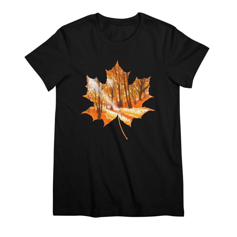 Golden Alley Women's Premium T-Shirt by kooky love's Artist Shop