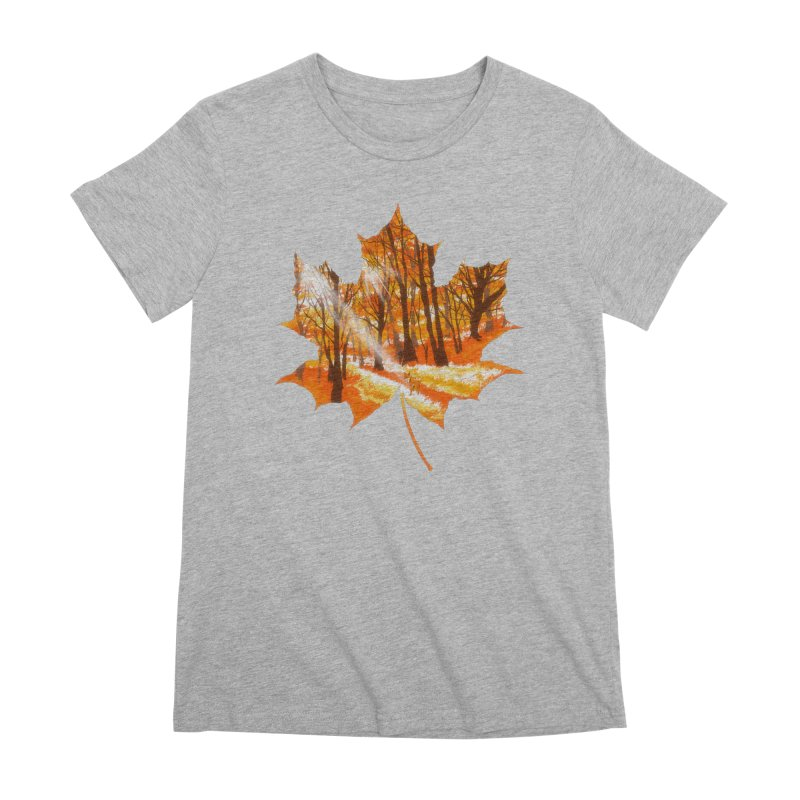 Golden Alley Women's Premium T-Shirt by kooky love's Artist Shop
