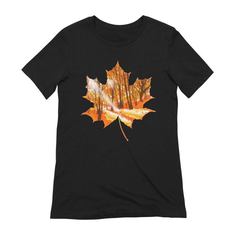 Golden Alley Women's Extra Soft T-Shirt by kooky love's Artist Shop