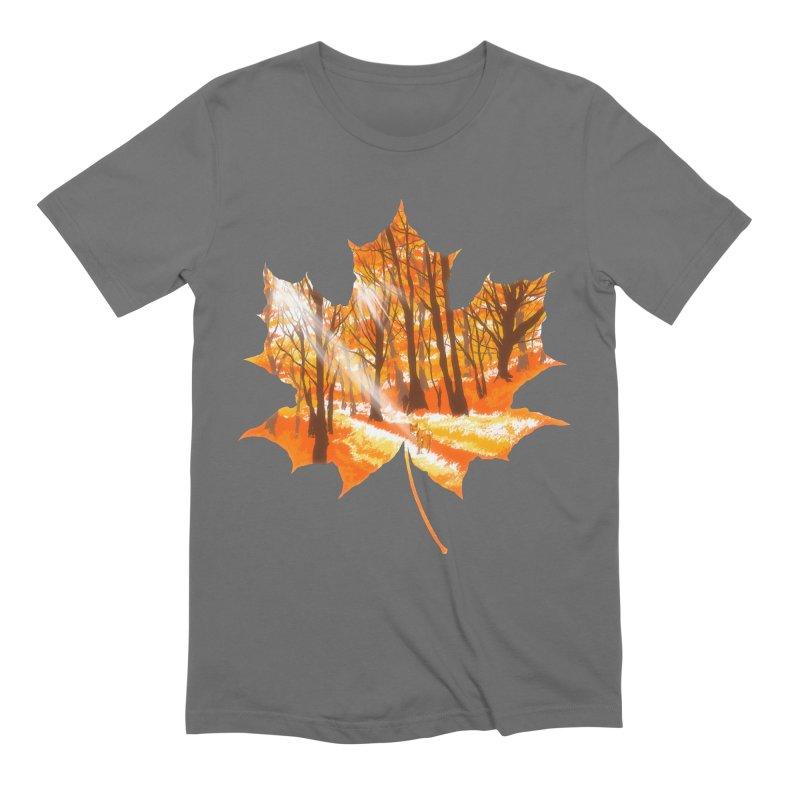 Golden Alley Men's Extra Soft T-Shirt by kooky love's Artist Shop