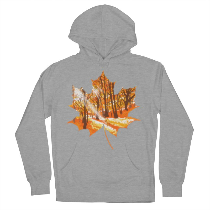Golden Alley Women's French Terry Pullover Hoody by kooky love's Artist Shop
