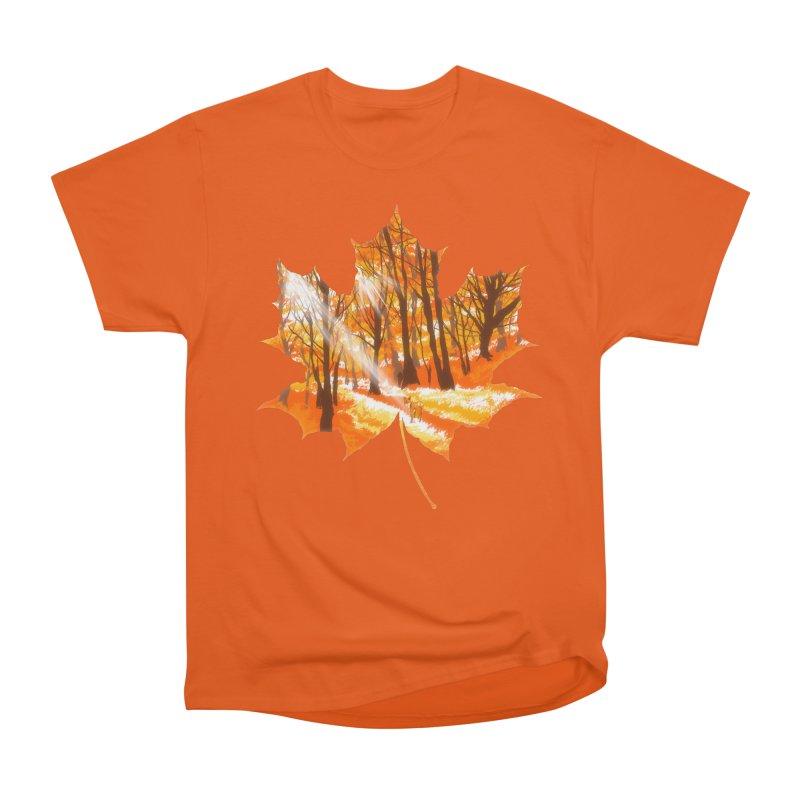 Golden Alley Women's Heavyweight Unisex T-Shirt by kooky love's Artist Shop