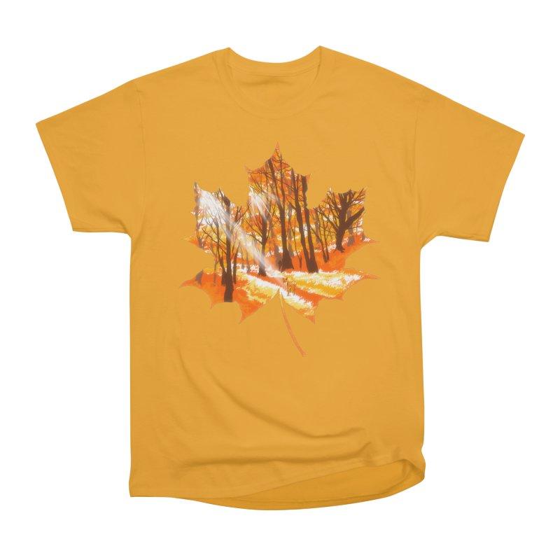 Golden Alley Men's Heavyweight T-Shirt by kooky love's Artist Shop