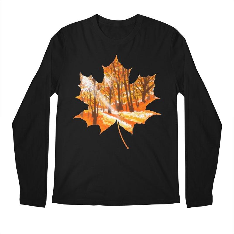 Golden Alley Men's Regular Longsleeve T-Shirt by kooky love's Artist Shop