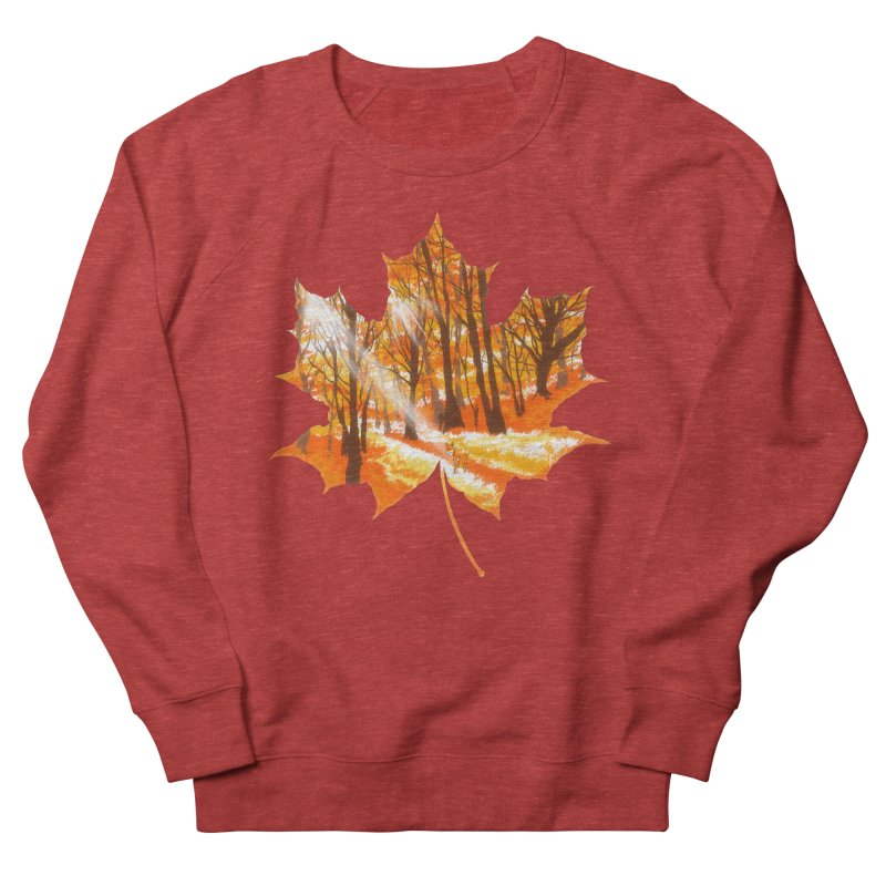 Golden Alley Women's French Terry Sweatshirt by kooky love's Artist Shop