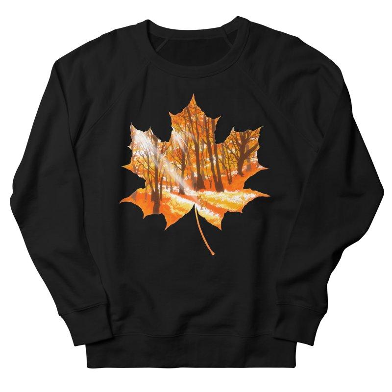 Golden Alley Men's French Terry Sweatshirt by kooky love's Artist Shop