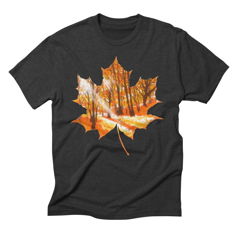 Golden Alley Men's Triblend T-Shirt by kooky love's Artist Shop