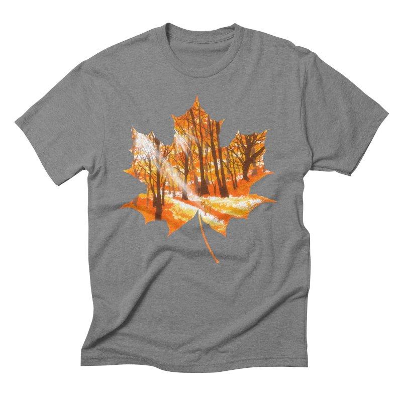 Golden Alley Men's Triblend T-Shirt by kooky love's Artist Shop