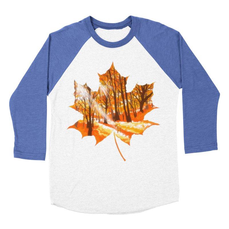 Golden Alley Women's Baseball Triblend Longsleeve T-Shirt by kooky love's Artist Shop