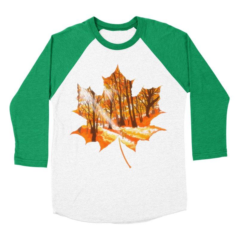 Golden Alley Men's Baseball Triblend Longsleeve T-Shirt by kooky love's Artist Shop