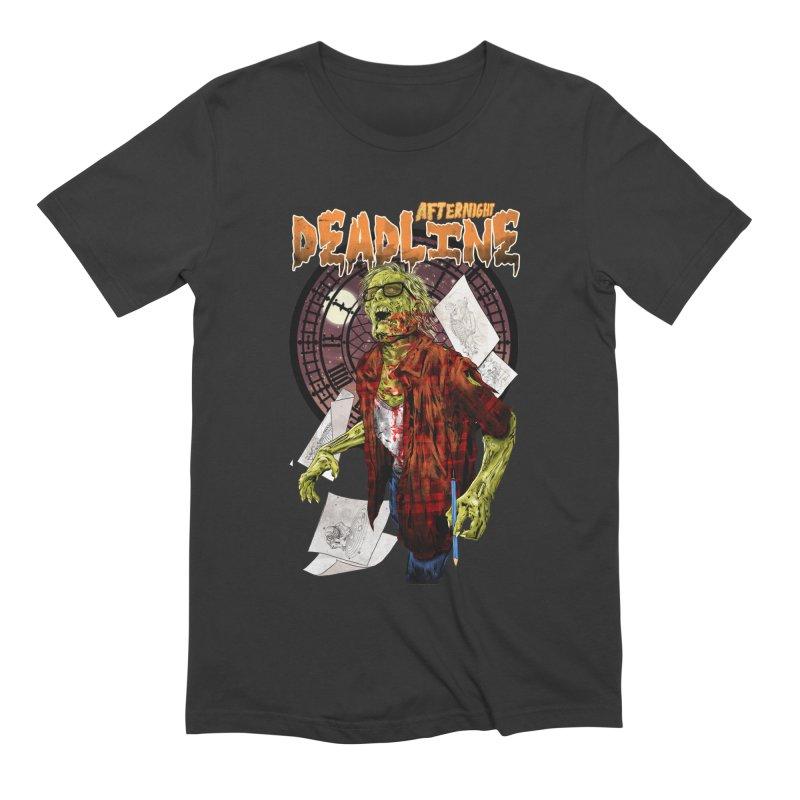 DEADLINE Men's Extra Soft T-Shirt by kooky love's Artist Shop