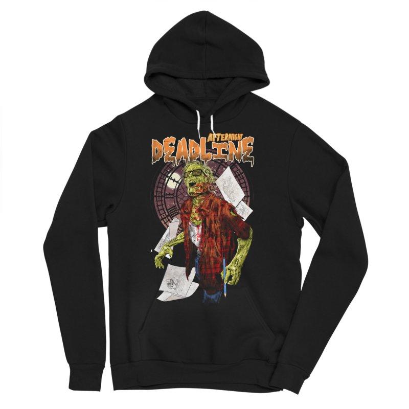 DEADLINE Men's Sponge Fleece Pullover Hoody by kooky love's Artist Shop