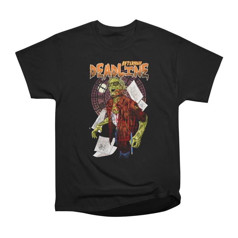 DEADLINE Men's Heavyweight T-Shirt by kooky love's Artist Shop
