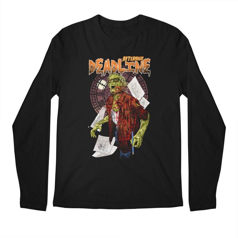 DEADLINE Men's Regular Longsleeve T-Shirt by kooky love's Artist Shop