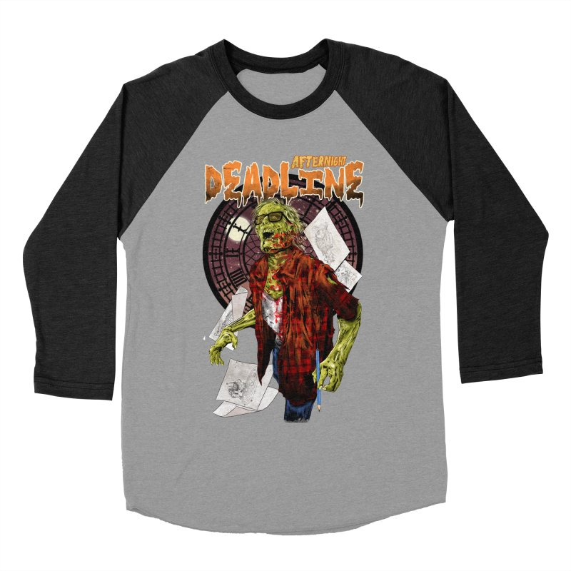 DEADLINE Men's Baseball Triblend Longsleeve T-Shirt by kooky love's Artist Shop