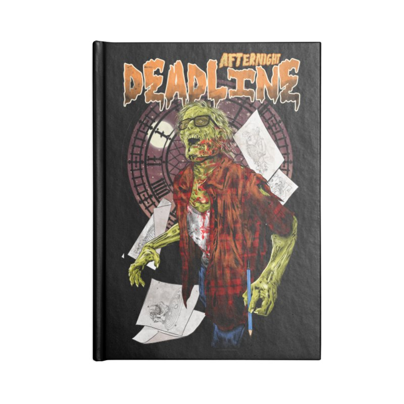 DEADLINE Accessories Notebook by kooky love's Artist Shop
