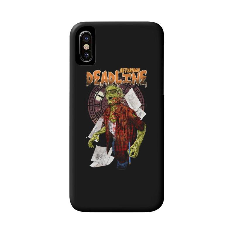 DEADLINE Accessories Phone Case by kooky love's Artist Shop