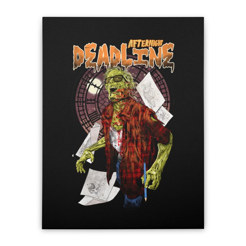DEADLINE Home Stretched Canvas by kooky love's Artist Shop