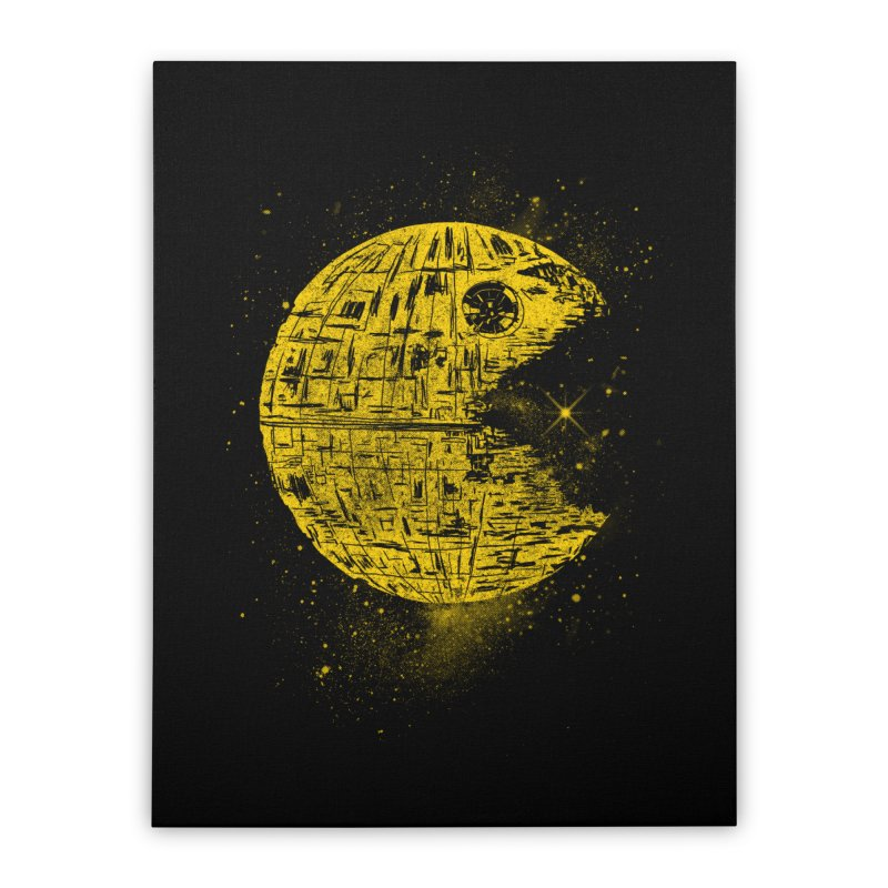 DEATH PAC Home Stretched Canvas by kooky love's Artist Shop