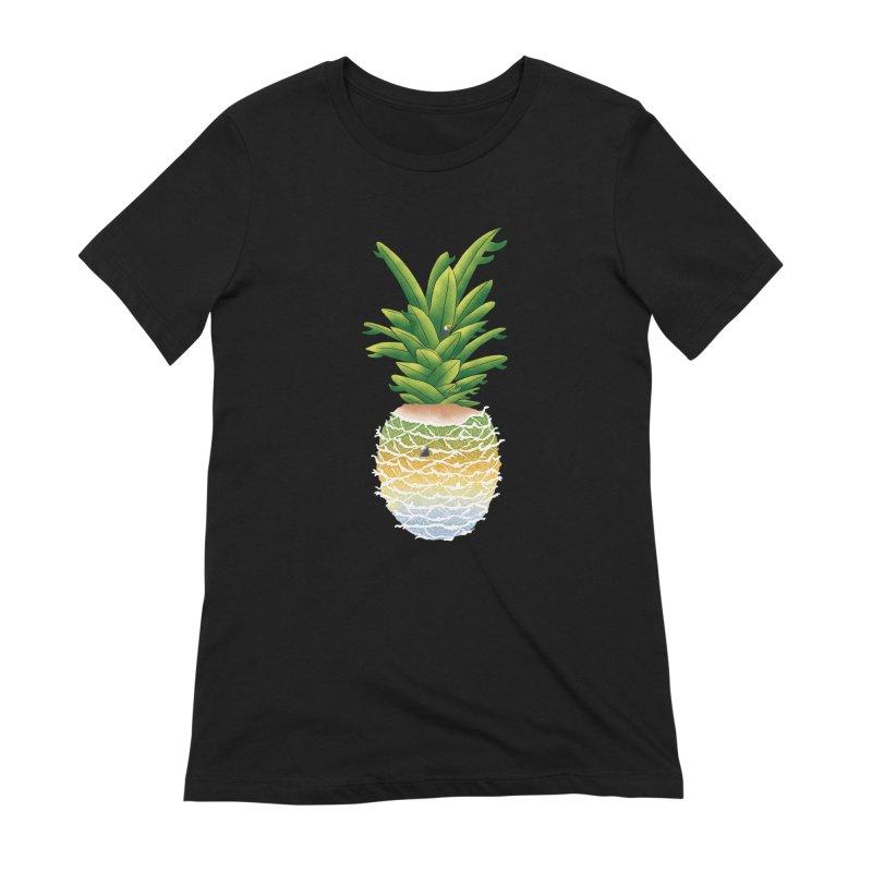 Finapple Women's Extra Soft T-Shirt by kooky love's Artist Shop