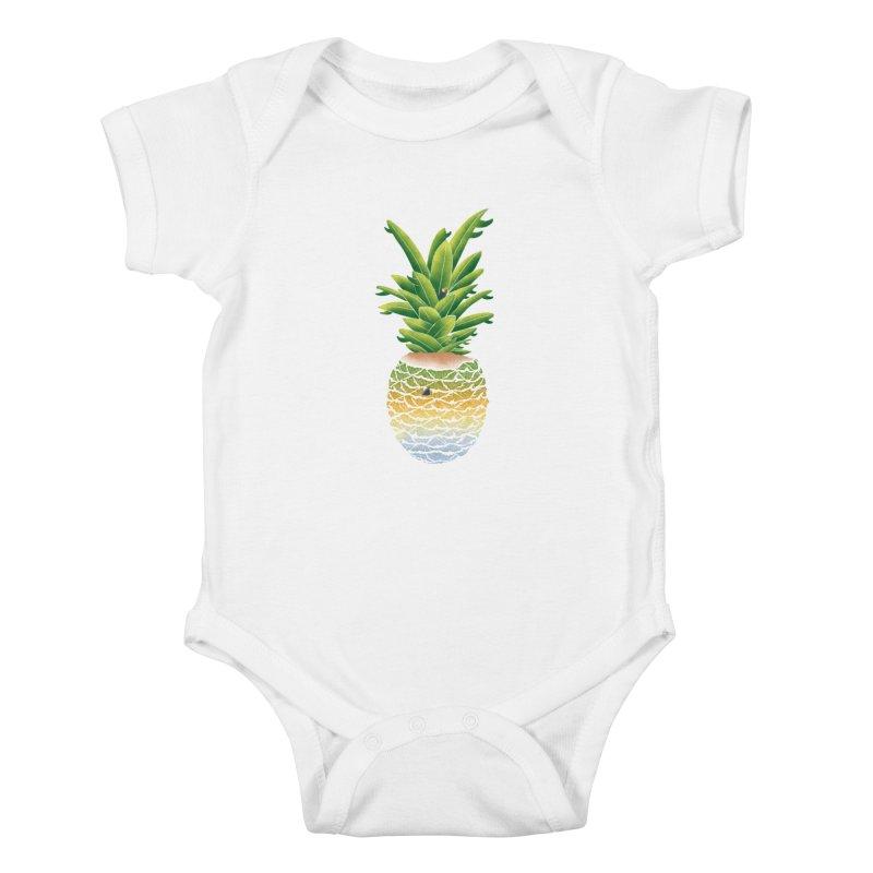 Finapple Kids Baby Bodysuit by kooky love's Artist Shop