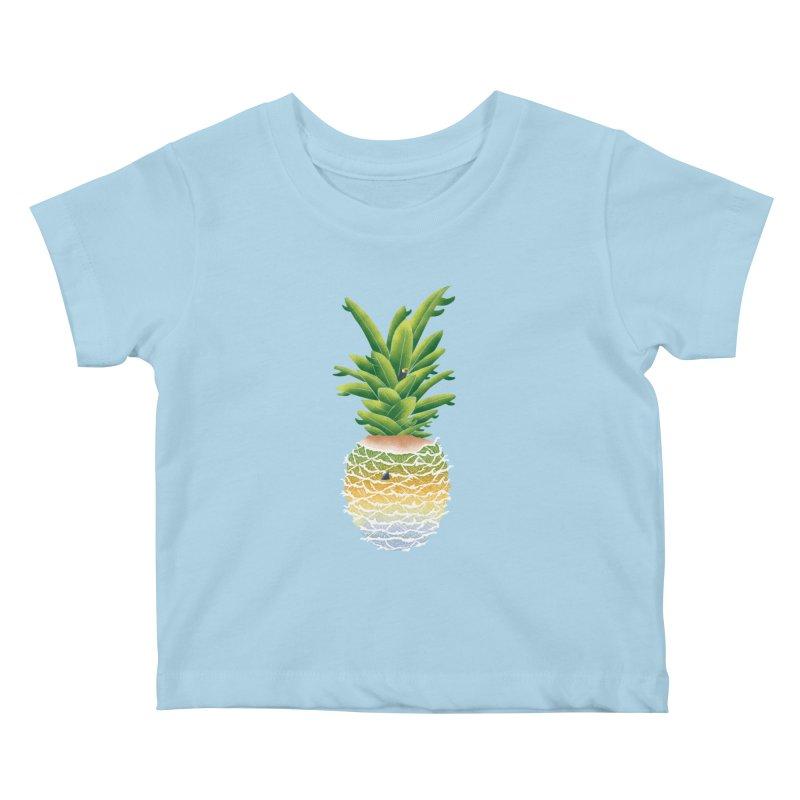 Finapple Kids Baby T-Shirt by kooky love's Artist Shop