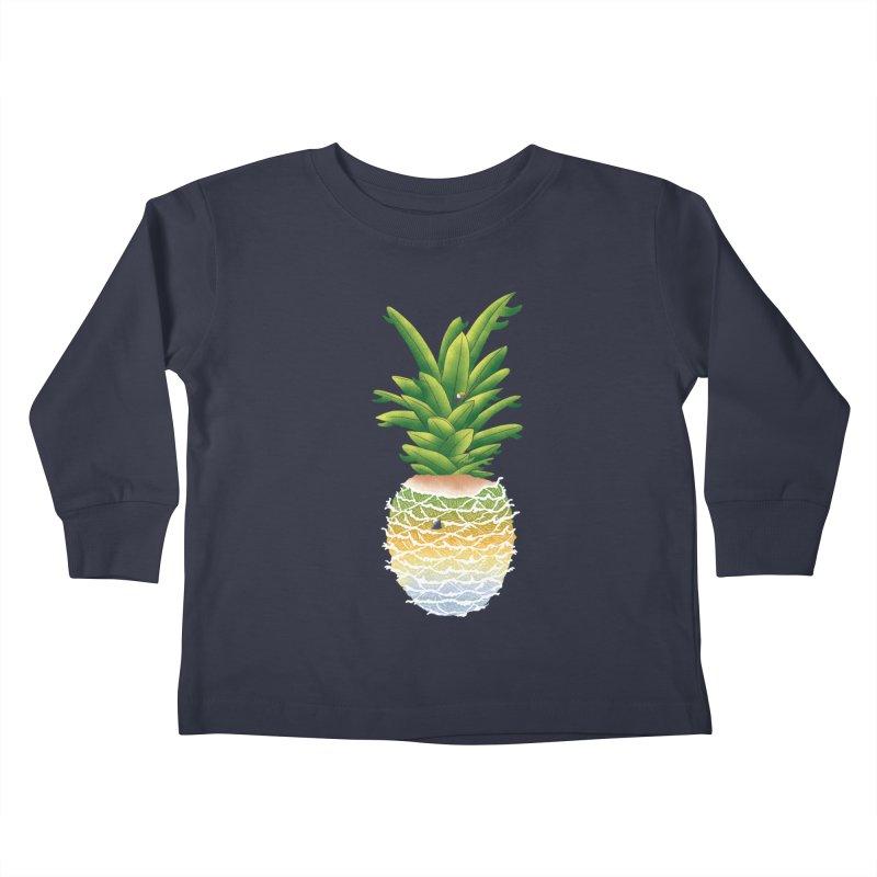 Finapple Kids Toddler Longsleeve T-Shirt by kooky love's Artist Shop